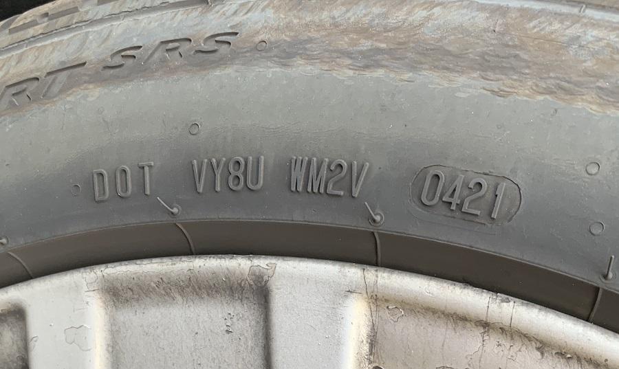 DOT TIN Tire Manufacture Expiration Date