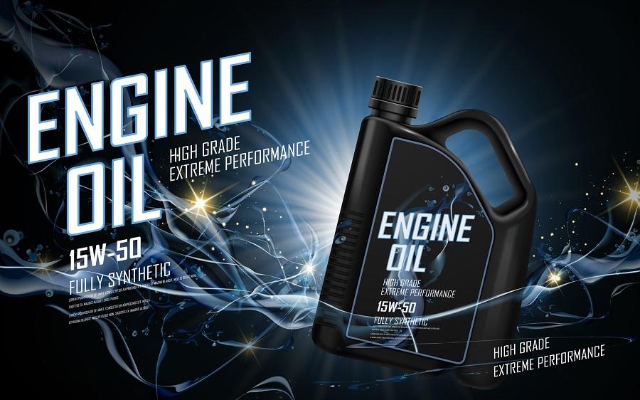 Generic Motor Oil Fake Ad Engine Oil Brand