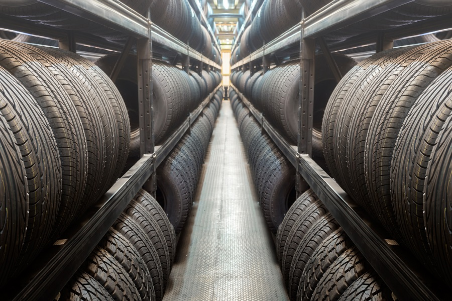 rows of automotive tires who makes generic car tires